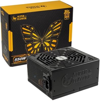 Super Flower LEADEX Gold 550W 135mm Automatic Control Fan 80 PLUS Gold  Fully Modular PSU