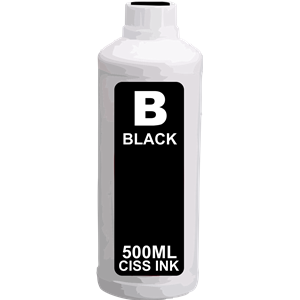 Epson Continuous Ink System Black Ink Bottle 500ml
