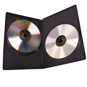 sc 1 st  3000 RPM & DVD Case Double Black 14mm 25 Pack