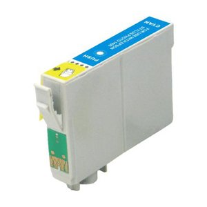 Epson T0712 Cyan Compatible Ink Cart Cartridge - Cheetah / Monkey / Rhinoceros