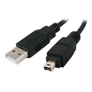 USB 2.0 A Male to 4 Pin Firewire IEEE 1394 Data Cable Lead 2 Metre
